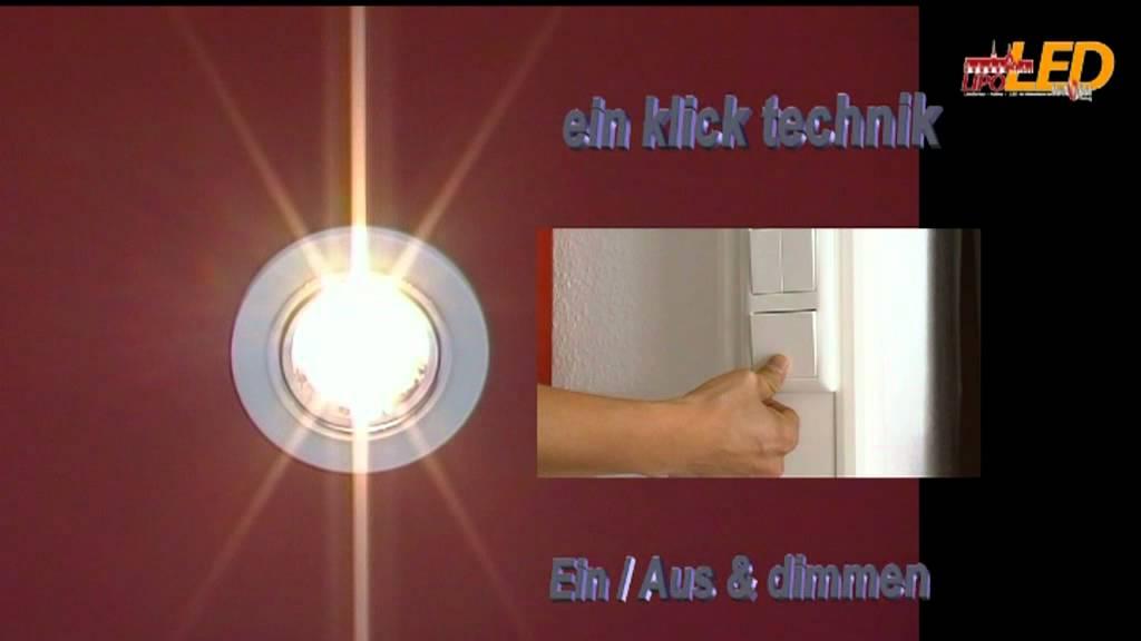 LED dimmbar - YouTube