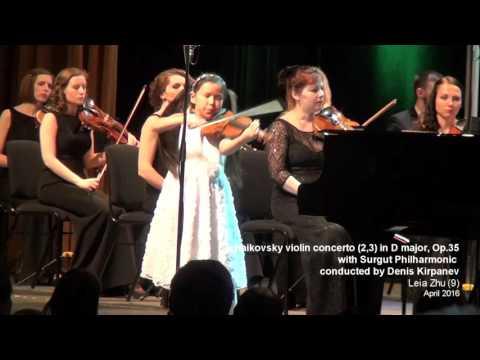 Tchaikovsky Violin Concerto (2nd, 3rd movement) | Leia Zhu (9)