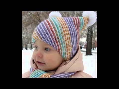 вязание классных шапочек для детей