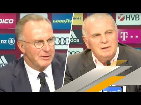 FC Bayern: Hoeneß und Rummenigge wollen Streit beenden | SPORT1