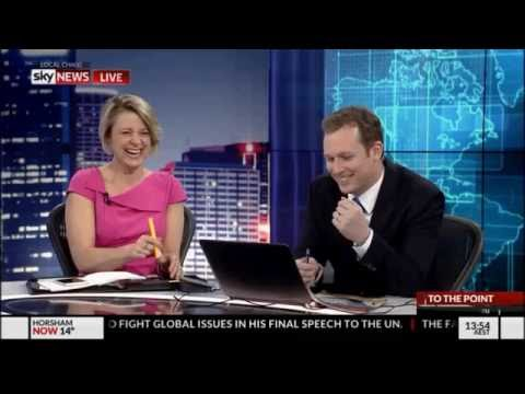 Kristina Keneally - Girl Interrupted (laughing at her own joke) on To The Point