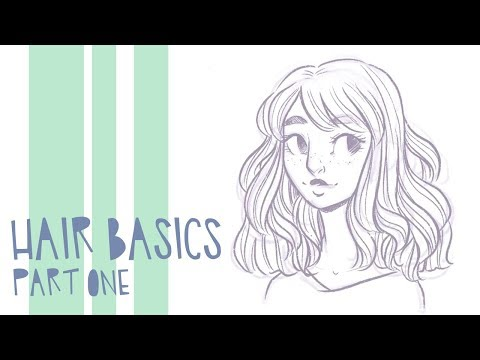 The Basics Of Drawing Hair // Part 1