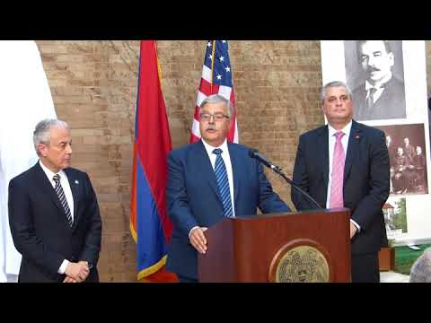 ARF Bureau Member Hagop Der Khatchadourian's Remarks at the Unveiling of the Armen Garo Statue streaming vf
