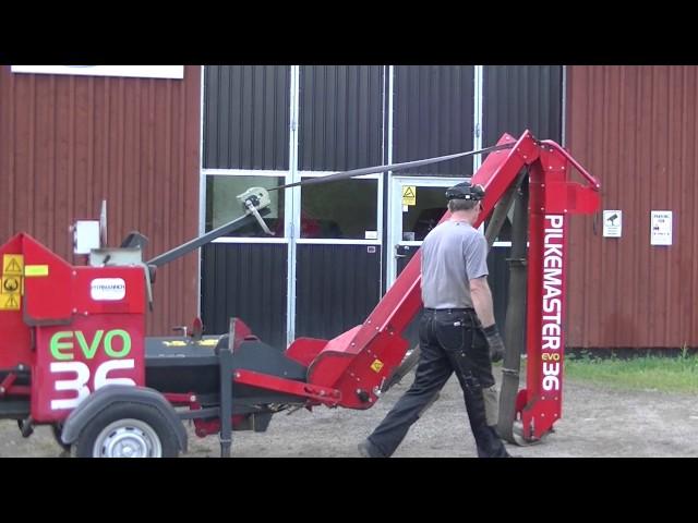 Hyrmännen - Vedmaskin Pilkemaster Evo 36