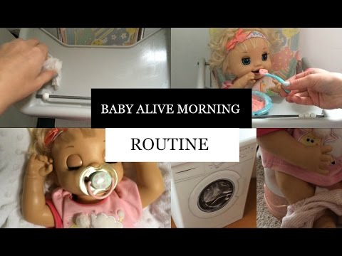 Baby Alive Morning Routine Youtube