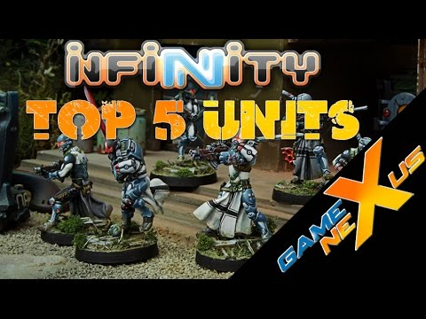 Infinity: Pan Oceania Top 5 units
