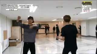 140509 EXO XOXO Ep 1 Luhan's & Lay's Random Dancing CUT