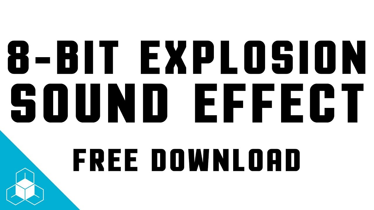 Free download sound effects explosion
