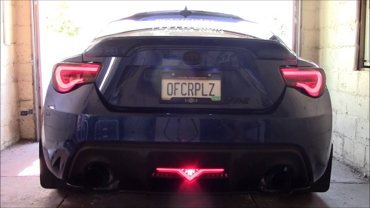 2014 Scion Fr S Smoked Valenti Tail Lights Sequential Blinkers