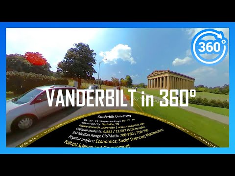 VANDERBILT UNIVERSITY In 360° (driving Campus Tour)