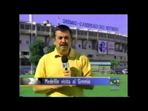 Gremio vs MEDELLIN Copa libertadores 2003 Momentos Previos.. Imagenes de Noticias caracol