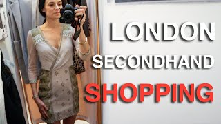 Gambar cover London's Best Secondhand Shops (Charity Shops and Vintage) | London Shopping Guide | Love and London