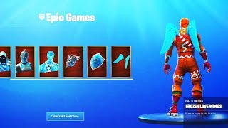 GIVING AWAY FROZEN LEGENDS PACK! | Old-School Player - 400+ Wins | Fortnite