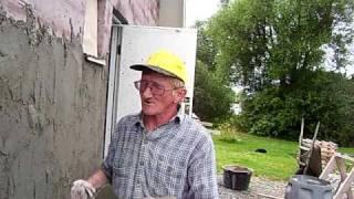 magik tynkarz tynkuje w szwecji