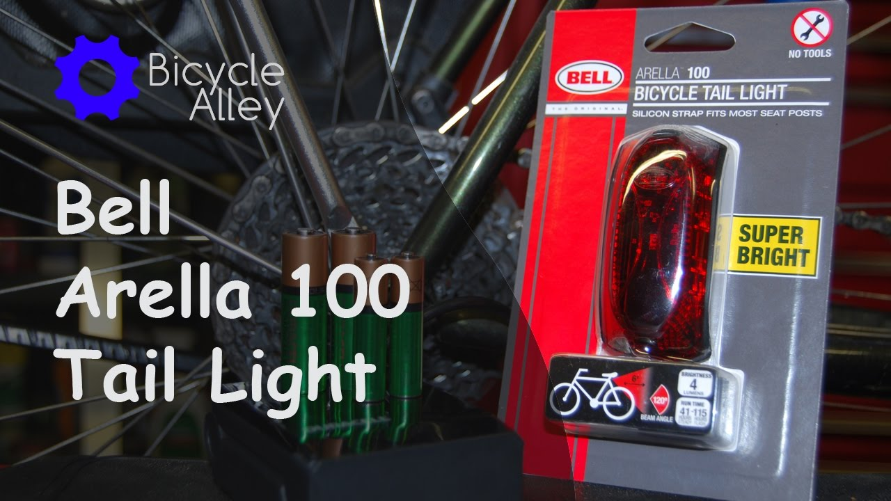 Bell Arella 100 Tail Light Unboxing Installation Mounting And