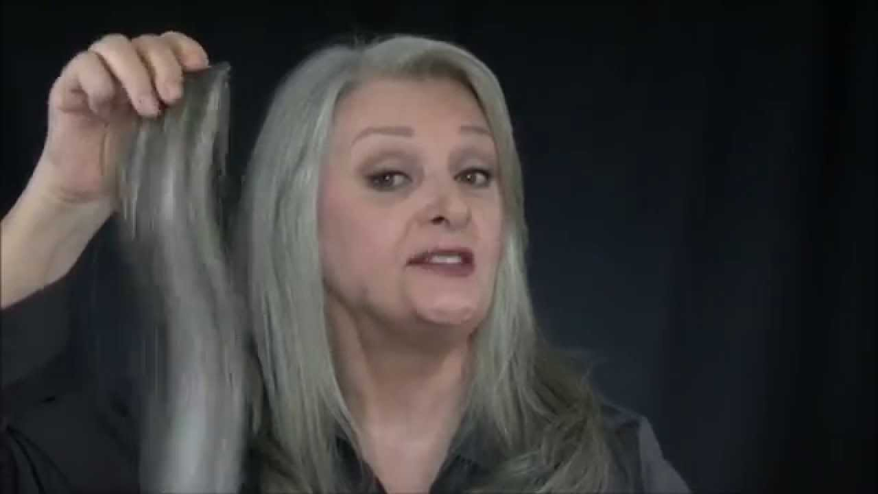 Uniwigs Extensions For Gray Hair B Youtube