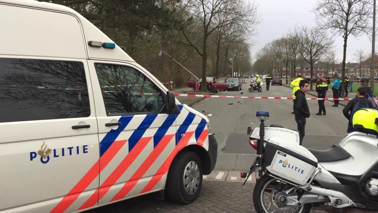 Gptv Auto Crasht Op Boom Na Achtervolging Politie Youtube