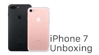 iphone 7 y 7 plus unboxing rose gold y negro espaol