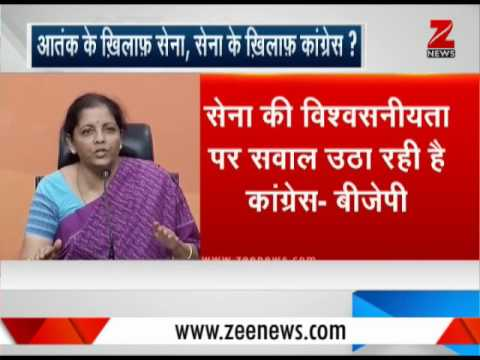 BJP asks Sonia Gandhi to apologize over Congress leader's derogatory remark on Army Chief