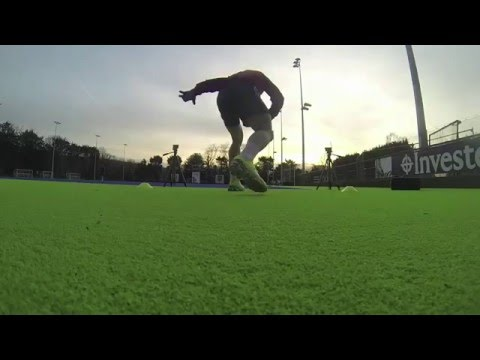 Great Britain Mens Hockey - Physical Training Jan 2016