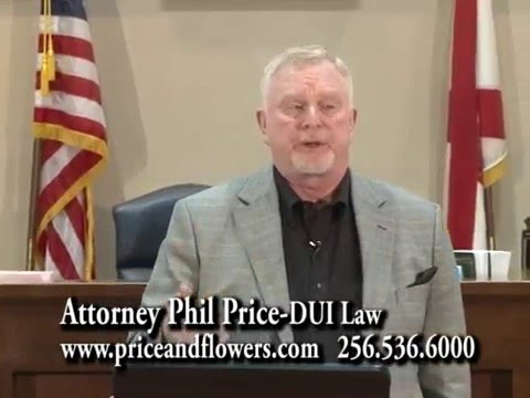 The People's Law School - Alabama: Attorney Phil Price - DUI Law