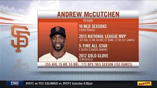 Yankees acquire OF Andrew McCutchen