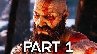 God of War 4 Walkthrough Part 1 - FULL GAME!! 2 HOURS GAMEPLAY!! (PS4 PRO 60FPS)