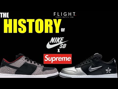 The History of Nike SB Dunk x Supreme Sneakers