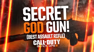 Black Ops 3 - THE SECRET GOD GUN! (Best Assault Rifle in Multiplayer)