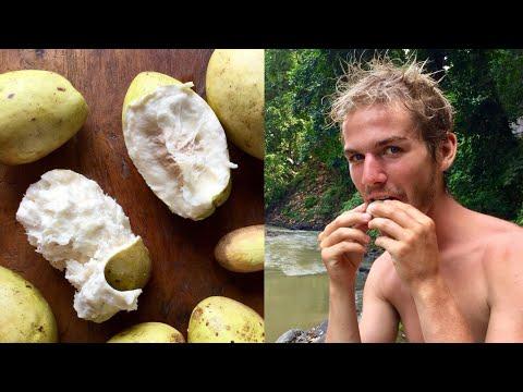 Eating the super rare WANI WHITE MANGO in Bali