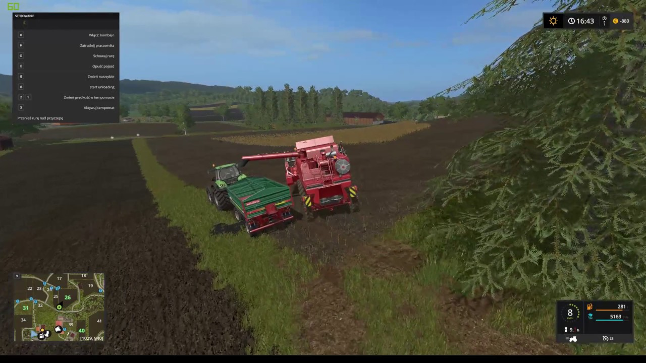 c6fb1f68867 Farming Simulator 17 GTX1070 Logitech G29 - YouTube