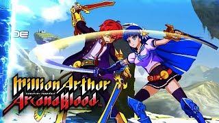 Million Arthur: Arcana Blood - Official Launch Trailer