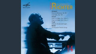 4 Impromptus, D. 935, Op. 142: No. 2 in A-Flat Major
