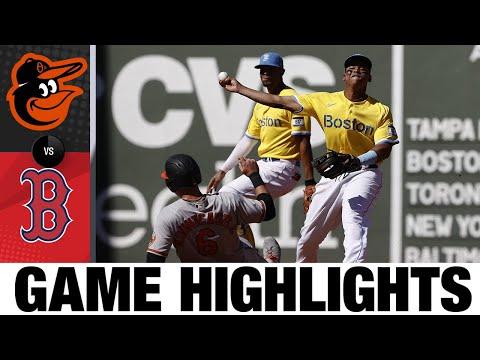 Orioles Vs. Red Sox Game Highlights (9/19/21) | MLB Highlights