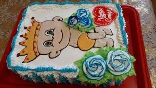 видео Торт детский на день рождения девочки, мальчика: фото, рецепт