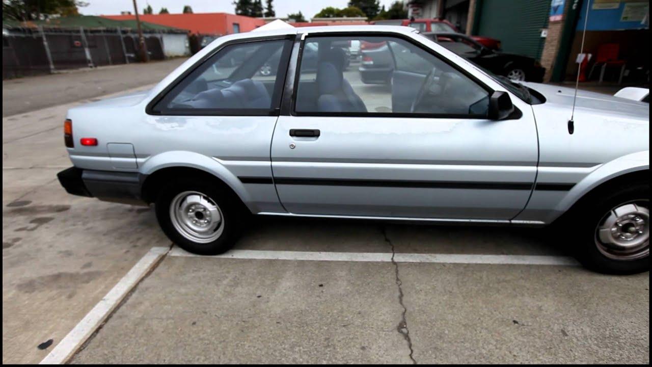 1987 Toyota Corolla Sr5 Ae86 Ae85 Youtube