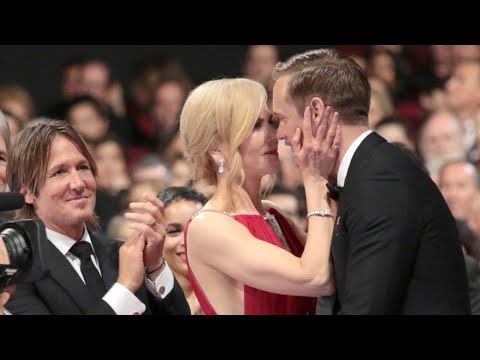 Nicole Kidman Kissed Alexander Skarsgard in Front of...