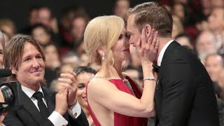Nicole Kidman Kissed Alexander Skarsgard in Front of Keith Urban – and Twitter Can't Handle It