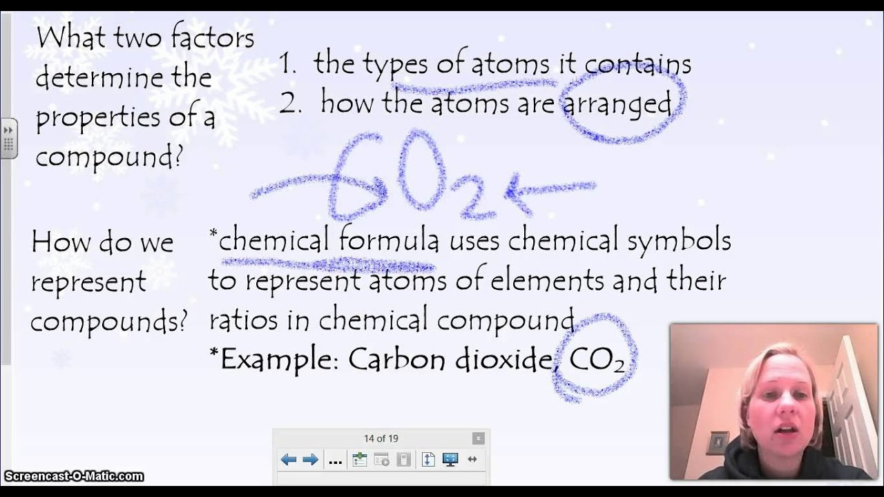 Elements combine to form compounds - YouTube
