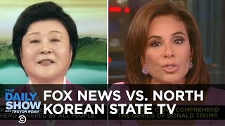 Side by side, Fox News's and North Korean State TV's reverence for ...