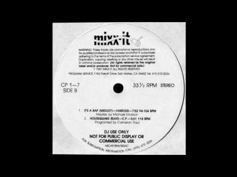 It's A Rap Medley - Mixx-It - 1987