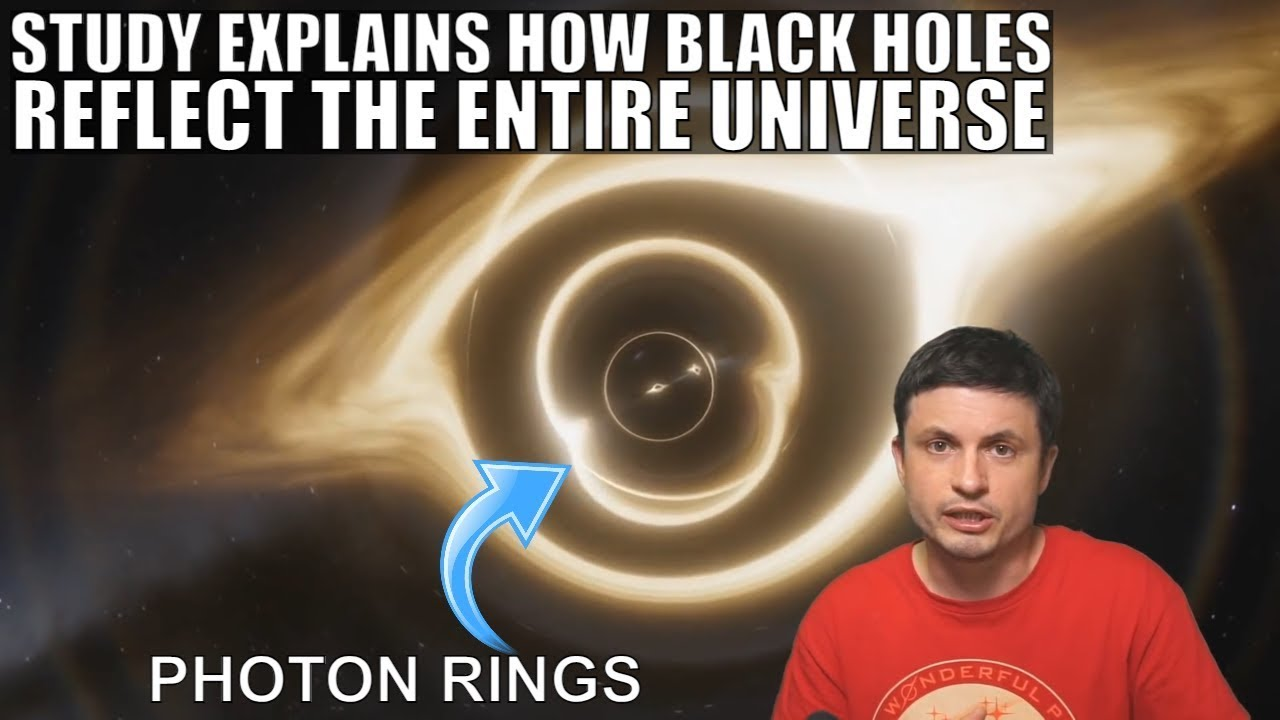 Black Holes Reflect The Universe Via Photon Rings, Study Shows How