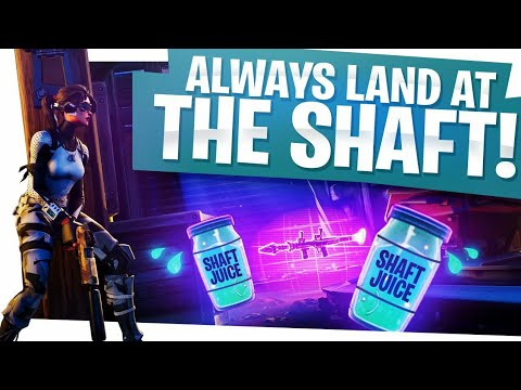 Always land at the Shaft! - Fortnite Battle Royale Win
