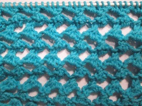 tuto tricot apprendre a tricoter le point ajoure oeil de chat point de tricot fantaisie facile. Black Bedroom Furniture Sets. Home Design Ideas