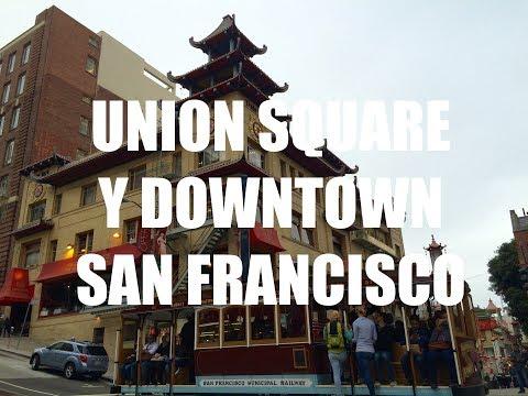 Guia de Viaje Costa Oeste USA - Union Square y Downtown en San Francisco, California