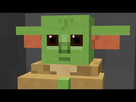 We Made Baby Yoda In Minecraft