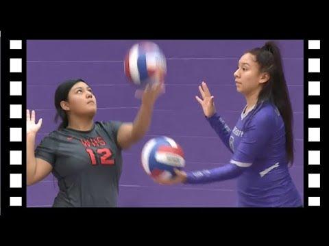 Waco ISD: Texas High School Volleyball: Waco High vs University High