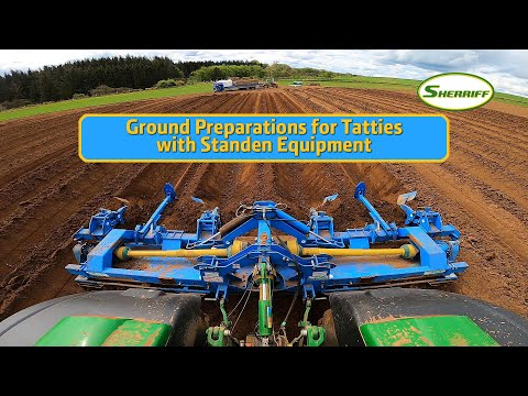 Ground Prep For Tatties With Standen Equipment