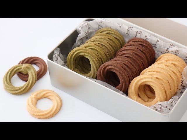 (버터링쿠키 끝판왕) 모양도 맛도 완벽한 버터쿠키 실패없는 레시피 Danish Butter Cookies 자도르