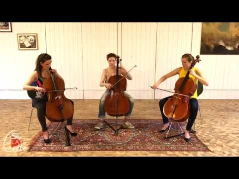 Shape of you - Hallelujah - Creep (CELLO TRIO COVER by she plays cello)